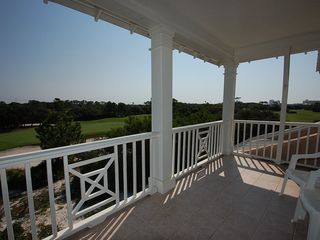 Fort Morgan property rental photo - This balcony overlooks the 8th green and is off the open concept guest bedroom.