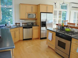 Wellfleet house photo - Lots of storage and elbow room with new appliances make this kitchen easy.