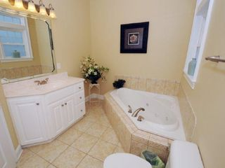 Surf City house photo - Master Bathroom w/ Jacuzzi