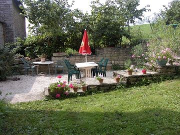 Privater Garten in Le Marronier