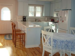 South Haven house photo - Open, functional kitchen with all the necessities and lots of light