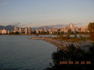 Vancouver house photo - Kitsilano sunset