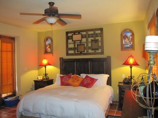 Loreto house photo - Upstairs Master bedroom with King size bed. Enjoy A/C,