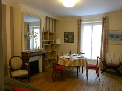 15th Arrondissement Vaugirard apartment rental - Living-room dining room