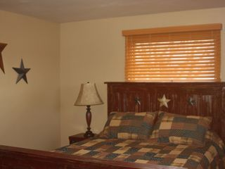 Lehighton house photo - Americana bedroom