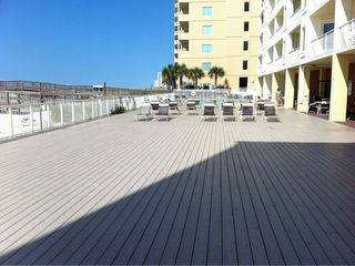 Gulf Shores condo photo - One of the largest Decks in the area