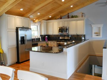 Fripp Island house rental - Chef's fully equiped kitchen.