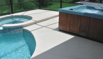 Pool Jacuzzi and Hot Tub