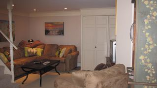 Moody Beach house photo - One of Two Family Rooms - This off of Game Room with HDTV, Propane Fireplace