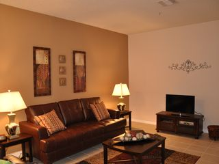 "Oakwater townhome photo - Living Room with 32"" LCD TV and DVD Player"
