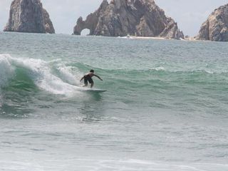Cabo San Lucas villa photo - Surfing at Monuments beach