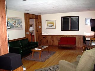North Conway estate photo - Large living room, HD Flat Screen, Free Broadband Wi-Fi network
