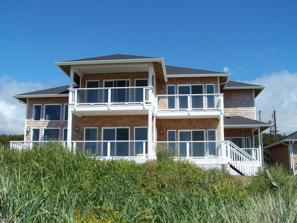 Modern Ocean Front Home View Master Homeaway Yachats