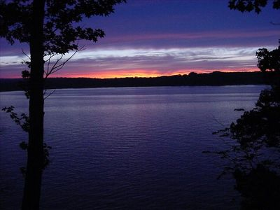 Another beautiful sunset...Norfork Lake Unspoiled, uncrowded, unforgettable....