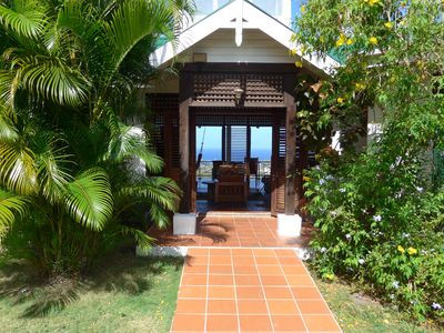 image for Villa Frangipani, a beautiful place to stay in St Lucia - wheel-chair friendly