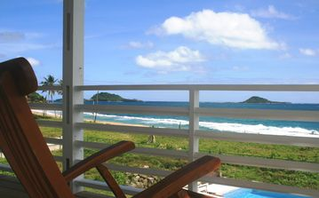 Stunning View from BeachComber balcony to Islands