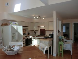 Harvey Cedars house photo - .Funstional kitchen with dishwasher, stove, counter microwave,coffee maker