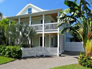 Key West house photo - This home is located on a quiet street with plenty of private parking.