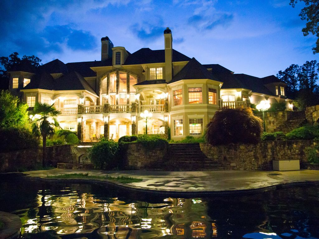 Luxury Chateau With Soaring Views Over Lake Vrbo