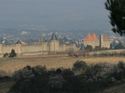 A view of La Cite, Carcassonne