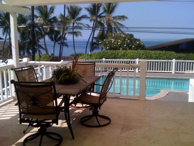 Covered lanai. Your peaceful space.