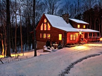 The Lodge at Lane's End is a Winter Wonderland!