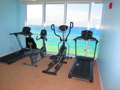 Use marvelous ocean views as inspiration for your workout