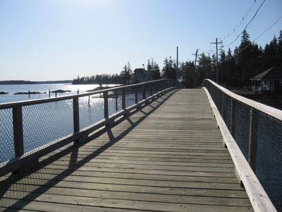 Southport cottage rental - Capitol Isle bridge down the road from 'An Tigin'