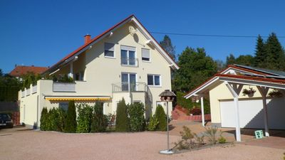 FeWo-Sandra / Modern, top equipped barrier-free apartment in Wadern-Nunkirchen