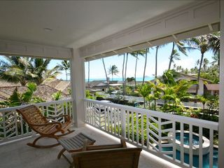 Kailua house photo - Upper level master bedroom suite has view of Ocean and the Mokulua Islands