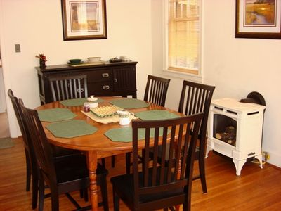 Dining Room with 6 Person Table!
