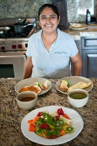 Mouth watering dishes prepared by the amazing and talented Yolanda. Her Huevos Rancheros are a MUST try!