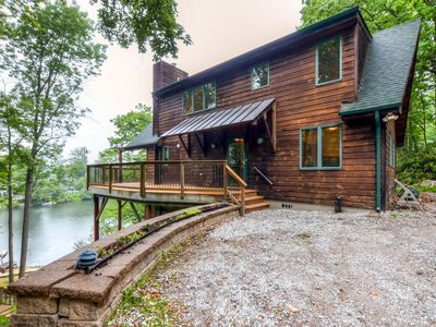 3BR Highland Lakes Home w/Private Dock!