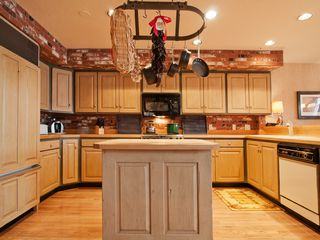 Deer Valley townhome photo - Our kitchen, plenty of pots, pans and other cooking equipment