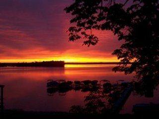 Breezy Point cabin photo - Sunrise over Pelican Lake