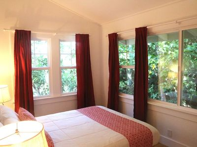 Bay View Suite Bedroom. Cool and secluded.