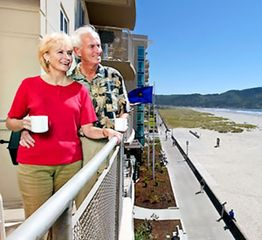 Seaside condo photo - Balcony with Ocean View at The Resort at Seaside Oregon