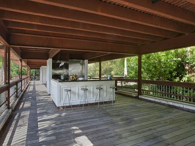 Pavilion Kitchen with Gas Grill