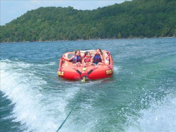 Bring your own boat & take the kids tubing