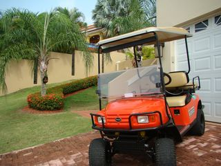 Humacao house photo - Golf cart gets you around resort and to the beach