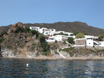 View from the sea