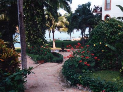 Puerto Vallarta condo rental - Incredibly Maintained Gardens for Relaxing