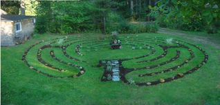 East Brookfield house photo - Walk our Tranquil Labyrinth Garden