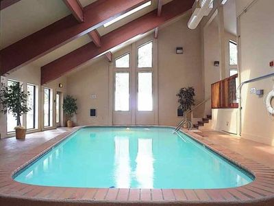 Clubhouse with pool and two hot tubs