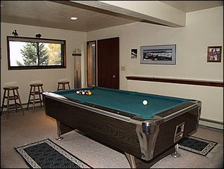Vail house photo - Game Room - Pool Table