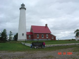 Oscoda house photo - Nearby Light House