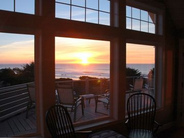 Lincoln City house rental - Watch spectacular sunsets over the Pacific from any room in the house!