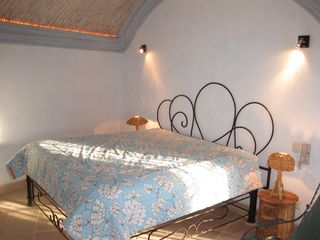 San Miguel de Allende house photo - Casita Chocolate Gorgeous Bedroom includes TV/DVD