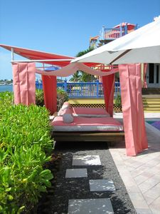 Pink Cabana to protect from the Sun