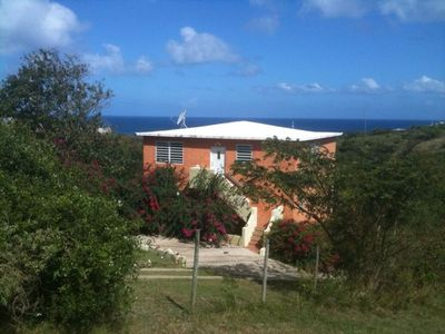 Casa Mamey is nestled into the privacy of the hillside overlooking the Atlantic beyond.
